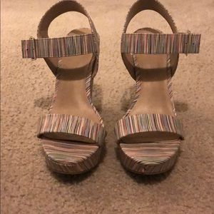 Mix No. 6 multi colored wedges